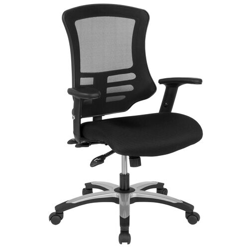 Our High Back Black Mesh Multifunction Executive Swivel Ergonomic Office Chair with Molded Foam Seat and Adjustable Arms is on sale now.