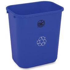 Genuine Joe Recycling Wastebasket - 28.5 Quart - 14.5