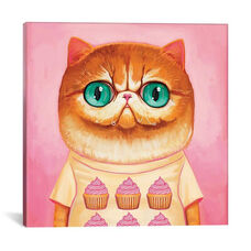 Hey Cupcake by Melanie Schultz Gallery Wrapped Canvas Artwork