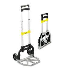 Safco® Stow & Go Cart - 110lb Capacity - 15-1/4