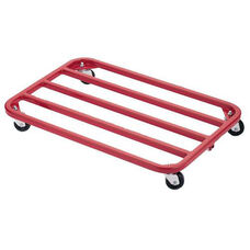 Steel Frame Royal Red Dolly with Vinyl Finish - 24