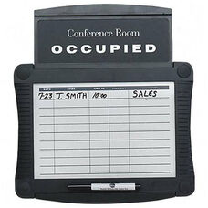 Quartet Conference Room Scheduler Sign