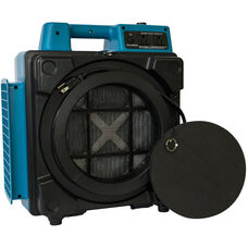 X-2480A Commercial HEPA Purifier System Mini Air Scrubber with 3 Stage Filtration and 1/2 HP - Blue