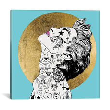 Icon Ink Series: Icon Virgin I by RUGMANart Gallery Wrapped Canvas Artwork - 37