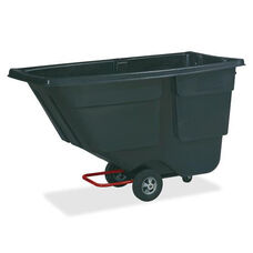 Rubbermaid Commercial Products One Cubic Yard Service Tilt Truck - 33