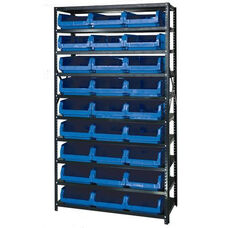 Magnum Shelving Unit with 27 Bins - Blue