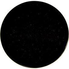 Natural Granite Round Outdoor Black Galaxy Tabletop - 30