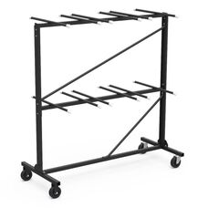 Two Tier Folding Chair Storage Rack - 31