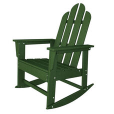 POLYWOOD® Long Island Collection Long Island Rocker - Green