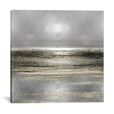 Silver Seascape I by Michelle Matthews Gallery Wrapped Canvas Artwork