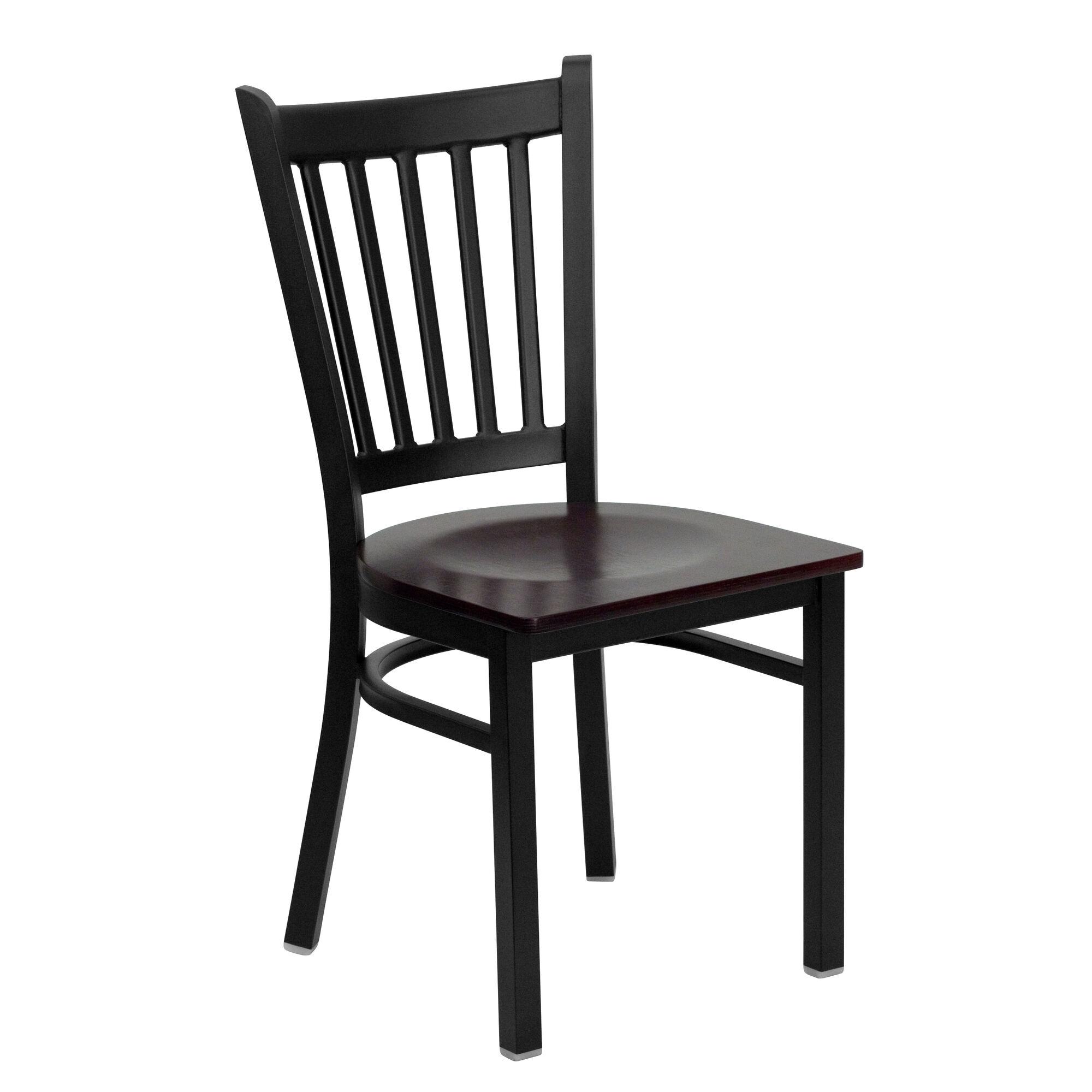 Black vert chair mah seat bfdh mwtrv tdr