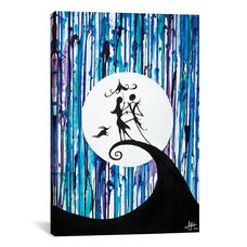 Something In The Air by Marc Allante Gallery Wrapped Canvas Artwork