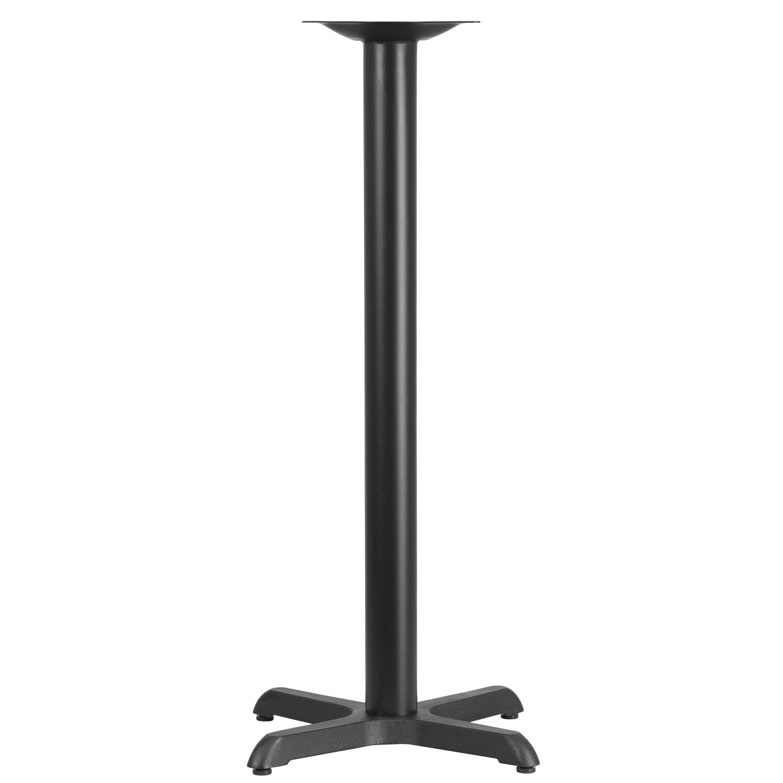 Superieur 22u0027u0027 X 22u0027u0027 X Base With 3u0027u0027 Dia. Bar Height Column
