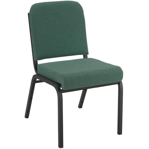 1000 Series Stacking Steel Frame Armless Hospitality Chair with 2