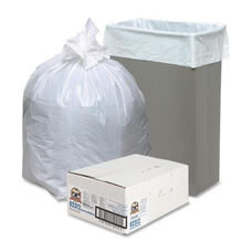 Genuine Joe Heavy -Duty Trash Bags - .8 Mil - 13 Gallon - 24