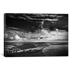 View Over Exmoor, United Kingdom by Dorit Fuhg Gallery Wrapped Canvas Artwork