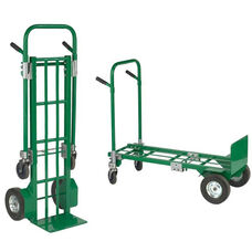Greenline Two-In-One E-Convertible Steel Hand Truck