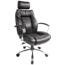 Commodore II Big & Tall Executive Chair - Black