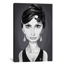 Vintage Celebrity Sunday Series: Sophia Loren by Rob Snow Gallery Wrapped Canvas Artwork