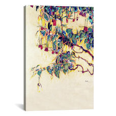 Sun Tree by Egon Schiele Gallery Wrapped Canvas Artwork