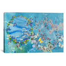 Agua y aire by Lia Porto Gallery Wrapped Canvas Artwork