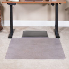 "Sit or Stand Mat Anti-Fatigue Support Combined with Floor Protection (36"" x 53"")"