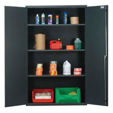 All-Welded Storage Cabinet with 3 Shelves