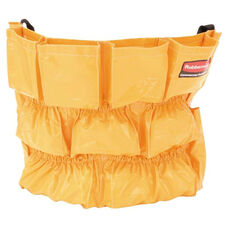 Rubbermaid® Commercial Brute Caddy Bag - 12 Pockets - Yellow