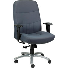 Excelsior350 High Back Executive Chair with Maximum 350 Lbs Weight Capacity - Gray