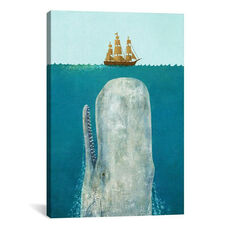 The Whale by Terry Fan Gallery Wrapped Canvas Artwork