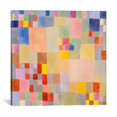 Flora on The Sand by Paul Klee Gallery Wrapped Canvas Artwork