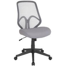 Salerno Series High Back Light Gray Mesh Chair