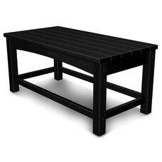 POLYWOOD® Club Coffee Table - Black