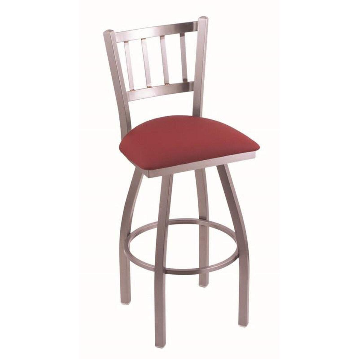 Contessa vinyl swivel stool ssalwine