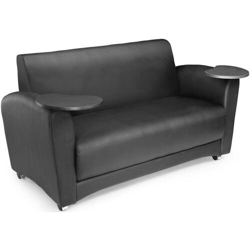 Our InterPlay Tablet Black Sofa - Tungsten Finish is on sale now.