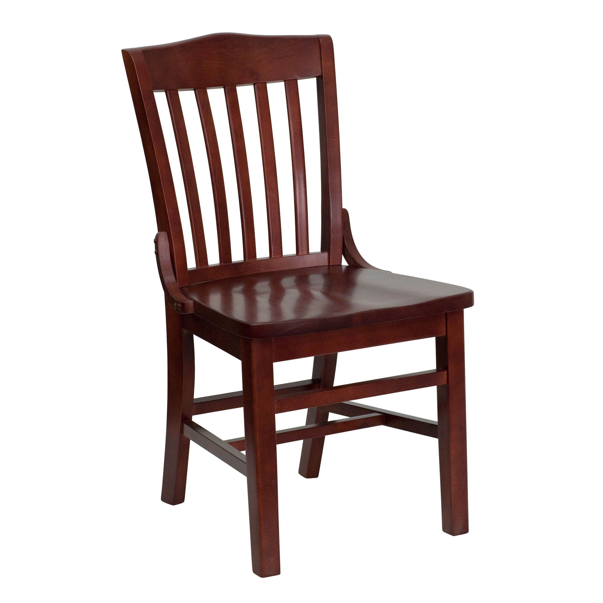 Mahogany Wood Dining Chair BFDH-7992MBK-TDR ...