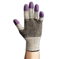 Jackson Safety G60 Purple Nitrile Gloves - X-Large/Size 10 - Black/White - Pair