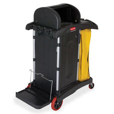 Rubbermaid Commercial Products High Security Cleaning Cart - 22