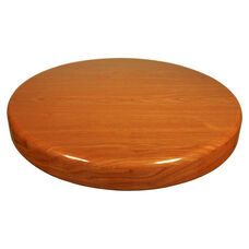 Cherry Resin Round Indoor Table Top