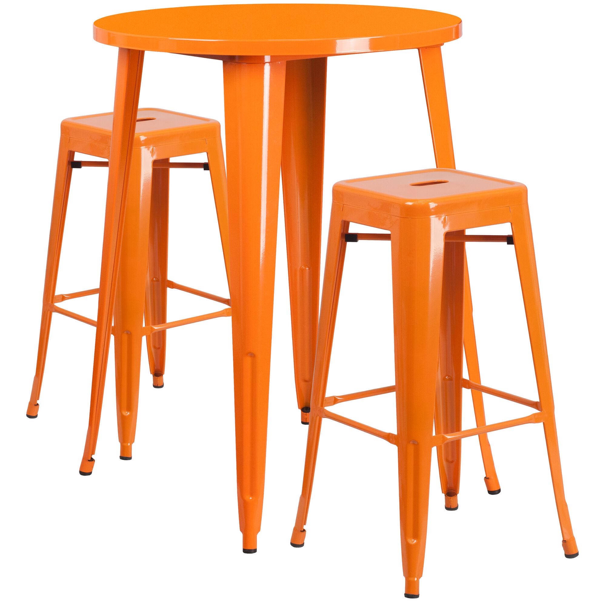 30rd Orange Metal Bar Set Ch 51090bh 2 30sqst Or Gg