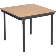 Square Folding Table with Particleboard Core and High Pressure Laminate Top - 30
