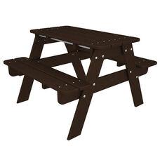POLYWOOD® Kids Collection Picnic Table - Mahogany