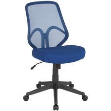Salerno Series High Back Navy Mesh Chair