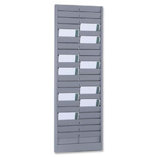 Mmf Industries Steel Horizontal Double Card Rack