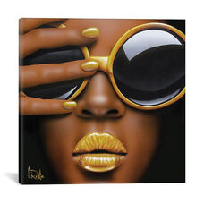 Goldilips by Scott Rohlfs Gallery Wrapped Canvas Artwork
