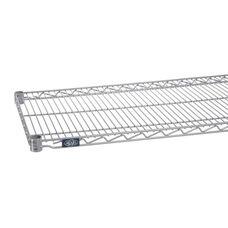 Silver Epoxy Standard Wire Shelf - 24