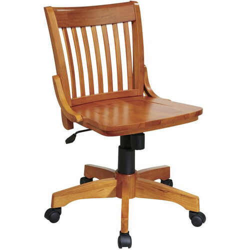 OSP Designs Deluxe Armless Wood Banker