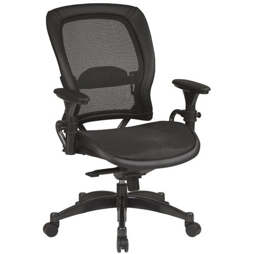 Space Matrex Mesh Back and Seat Ergonomic Office Chair with Adjustable Arms