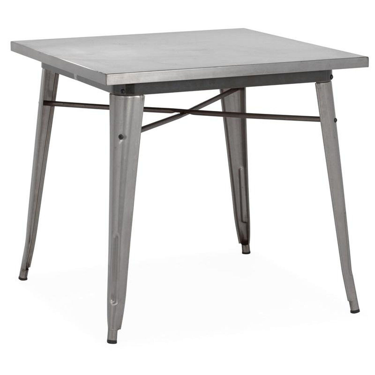 Dreux Gunmetal Dining Table Ls 9120 Gun