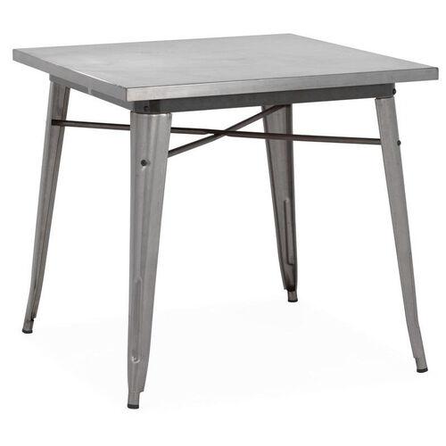 Dreux Gunmetal Dining Table Ls 9120 Gun